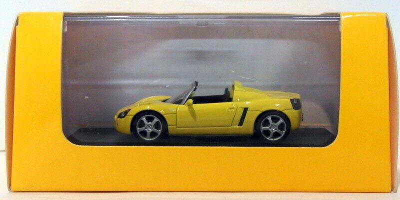 Kyosho models 1 43 scale DIECAST 465-Opel Speedster-amarillo