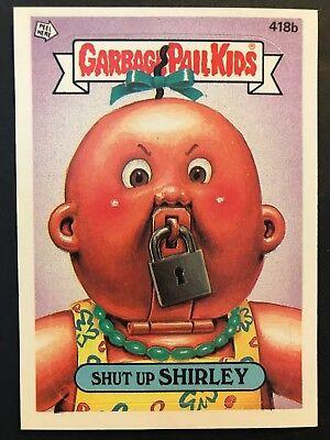 Garbage Pail Kids GPK Original Series 10 #379b Sidney Kidney NrMInt-Mint