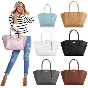 Image Is Loading Joy Amp Iman City Satchel Leather Handbag Large