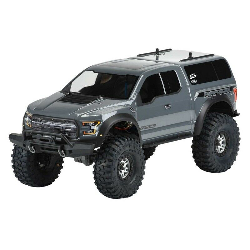 Pro-Line Racing 3509-00 2017 Ford F-150 Raptor Clear Body for 12.8 TRX-4