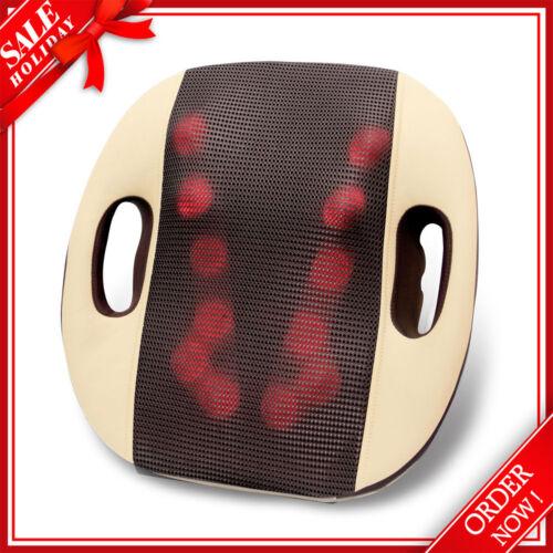 GESS120 Shiatsu Back Shoulder Massage Massager Cushion Piollw with Heat