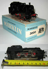Marklin Märklin HO H0 3000 Tenderlokomotive Locomotiva a vapore BOX untested