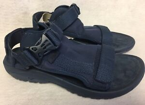 79c39d2926d TEVA HURRICANE VOLT Navy Blue SPORT WATER Strappy SANDALS Men s size ...