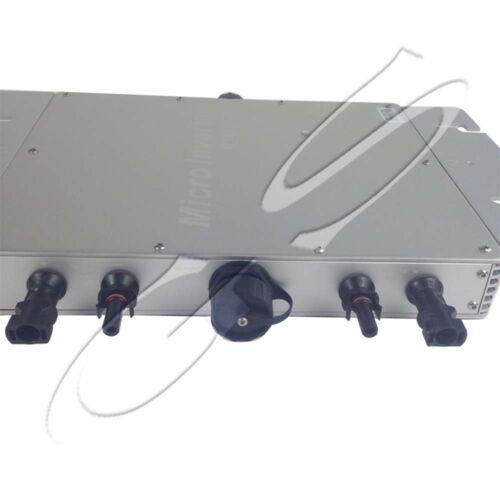 1200W 110V Grid Tie Micro Inverter Wireless Communication,Mppt Pure Sine Wave