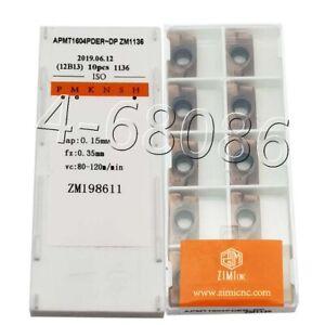 BAP 400R C32-35-200-3F End milling cutter 10pcs APMT1604PDER-H2 1125 inserts