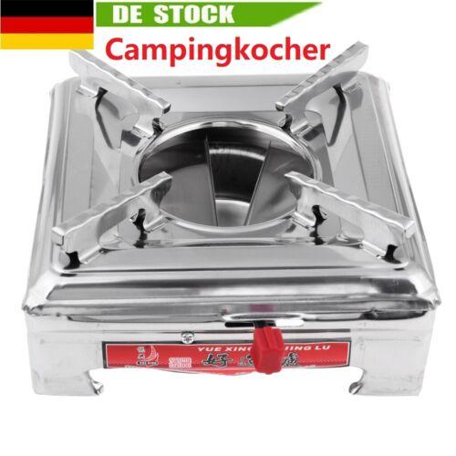 1 Stück Tragbar Alkohol Kocher Campingkocher Edelstahl Spiritusbrenner Outdoor