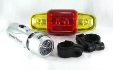 LED Bike Light + 7 Different Mode Rear Flashlight