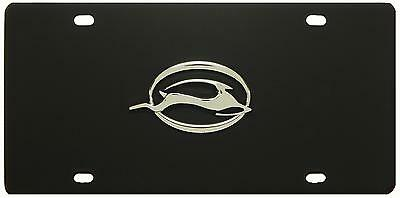 Impala Black Stainless Steel License Plate Tag