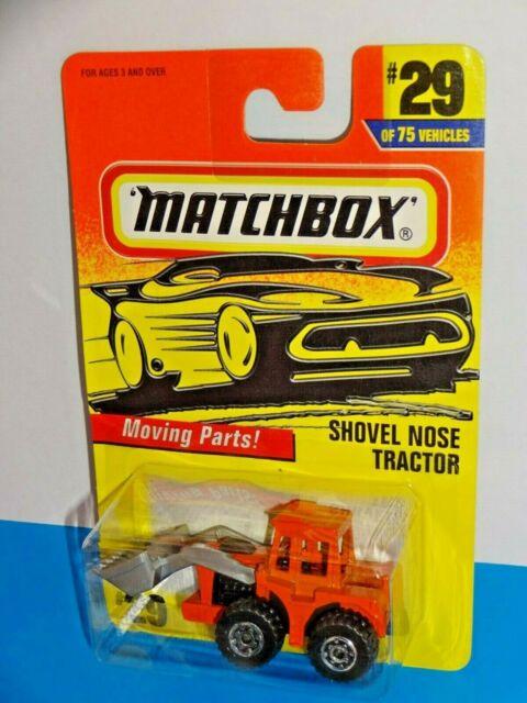 Matchbox 1997 Release  29 Shovel Nose Tractor Orange