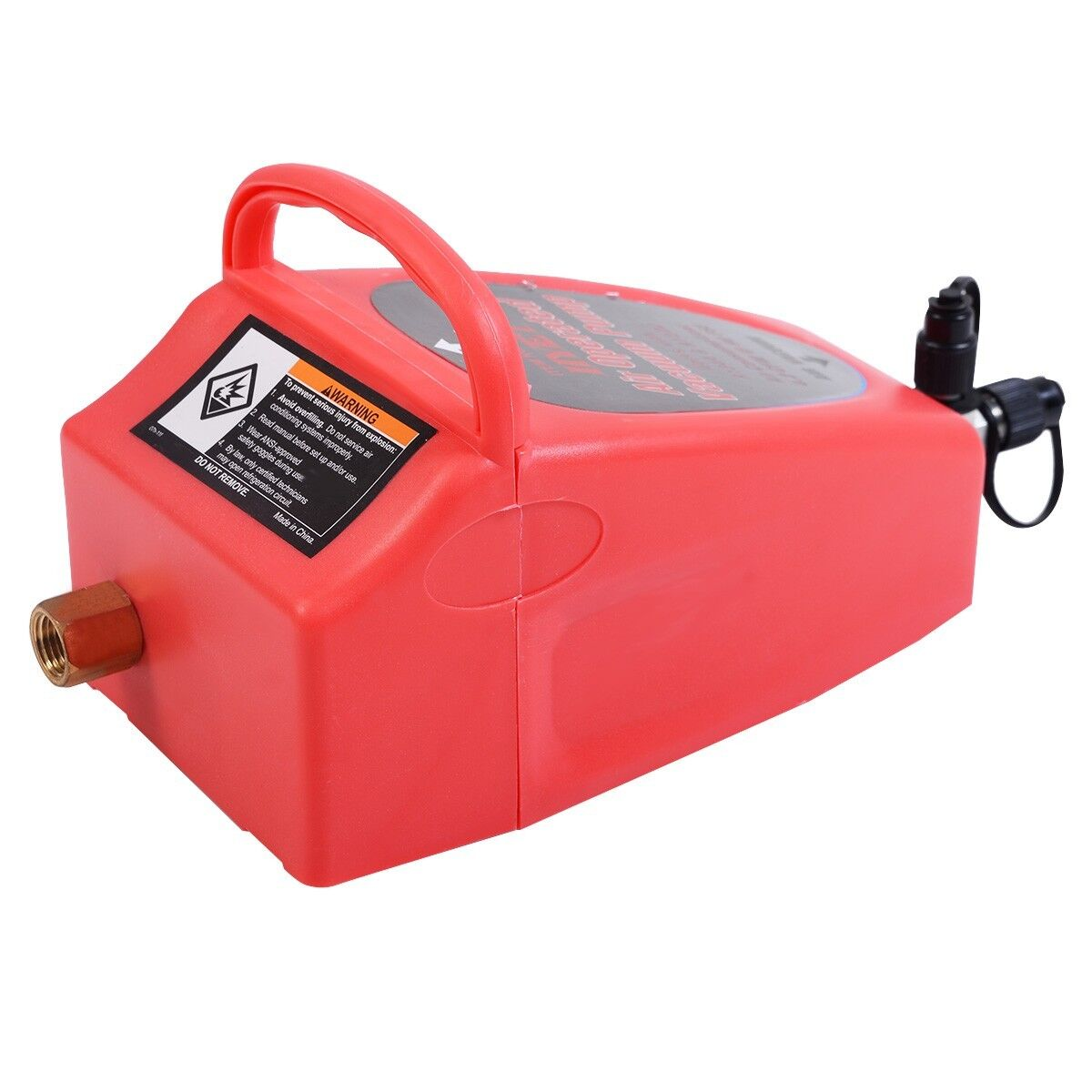 Auto Pneumatic 4.2CFM Air Operated Vacuum Pump A/C Air Conditioning System Tool 2