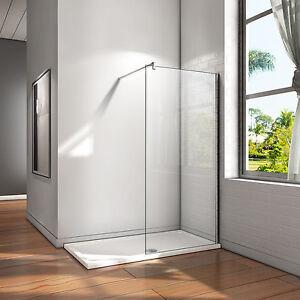 Walkin-Duschtrennwand-8-10mm-Nanoglas-Duschabtrennung-Duschwand-Duschkabine