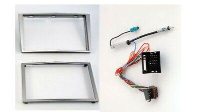 Carav 11-090 Autorradio Marco de Radio para Opel Astra H Corsa D Zafira 2-DIN