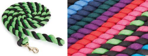 Shires licou longe corde avec trigger clip ** tous coloris **