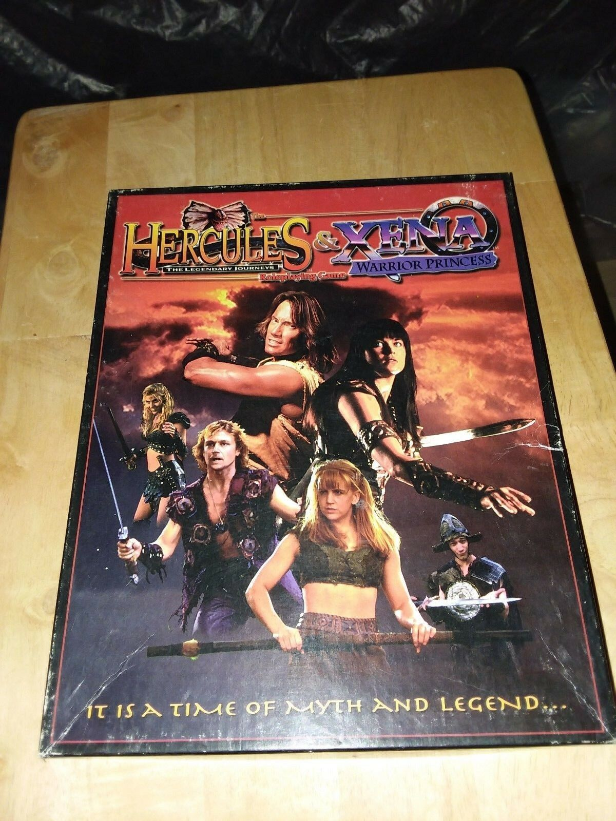 Hercules & Xena Warrior Princess RPG Box Set  100%; complete VF-