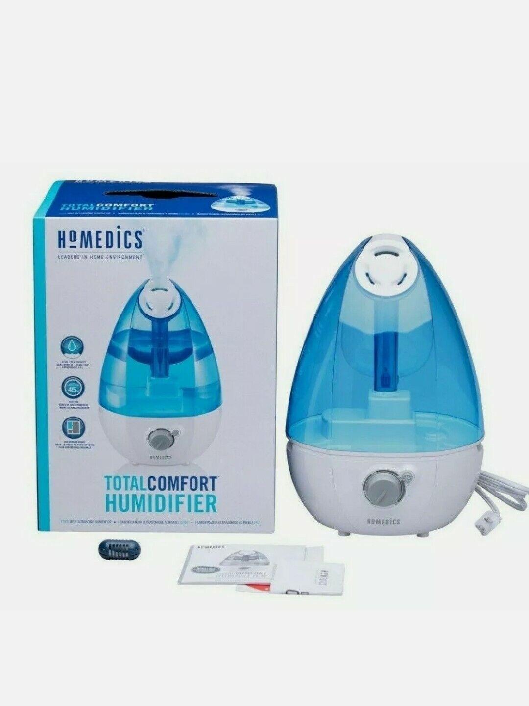 HoMedics UHE CM25 Cool Mist Ultrasonic Humidifier