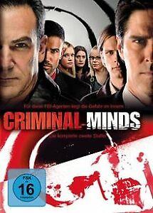 Criminal-Minds-Die-komplette-zweite-Staffel-6-DVDs-vo-DVD-Zustand-gut