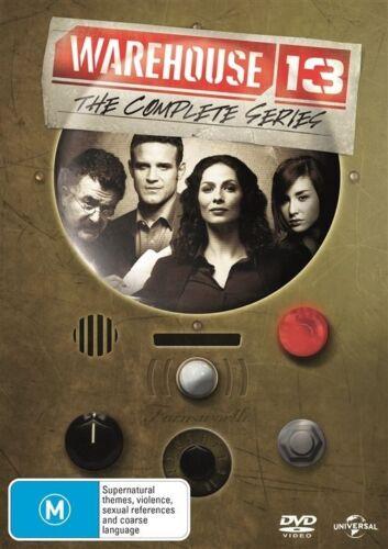 1 of 1 - Warehouse 13 : Season 1 2 3 4 5 (DVD, 19-Disc Set) NEW