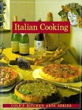 Italian Cooking (Cole's Kitchen Arts Series) - Acceptable - Harron, Hallie - Pap