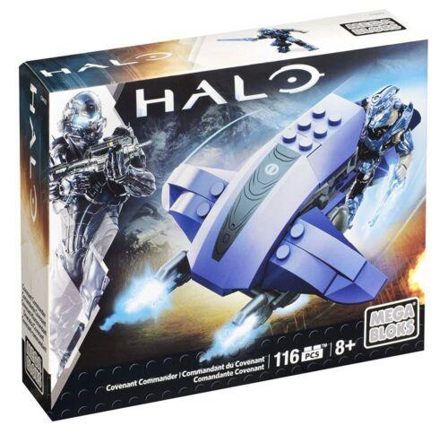 Mega Bloks Halo Covenant Commander Building Set NIB