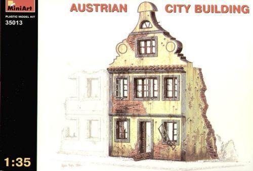 Miniart 35013 - en Ruinas Austríaco Edificio Ciudad - 1 :3 5 Kit