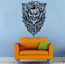 Joker Wall Vinyl Decal Supervillain DC Comics Hero Sticker Atr Home Decor (1b2j)
