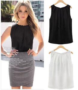 Fashion-Women-Summer-Loose-Sleeveless-Casual-Tank-T-Shirt-Blouse-Tops-Vest-aa-US