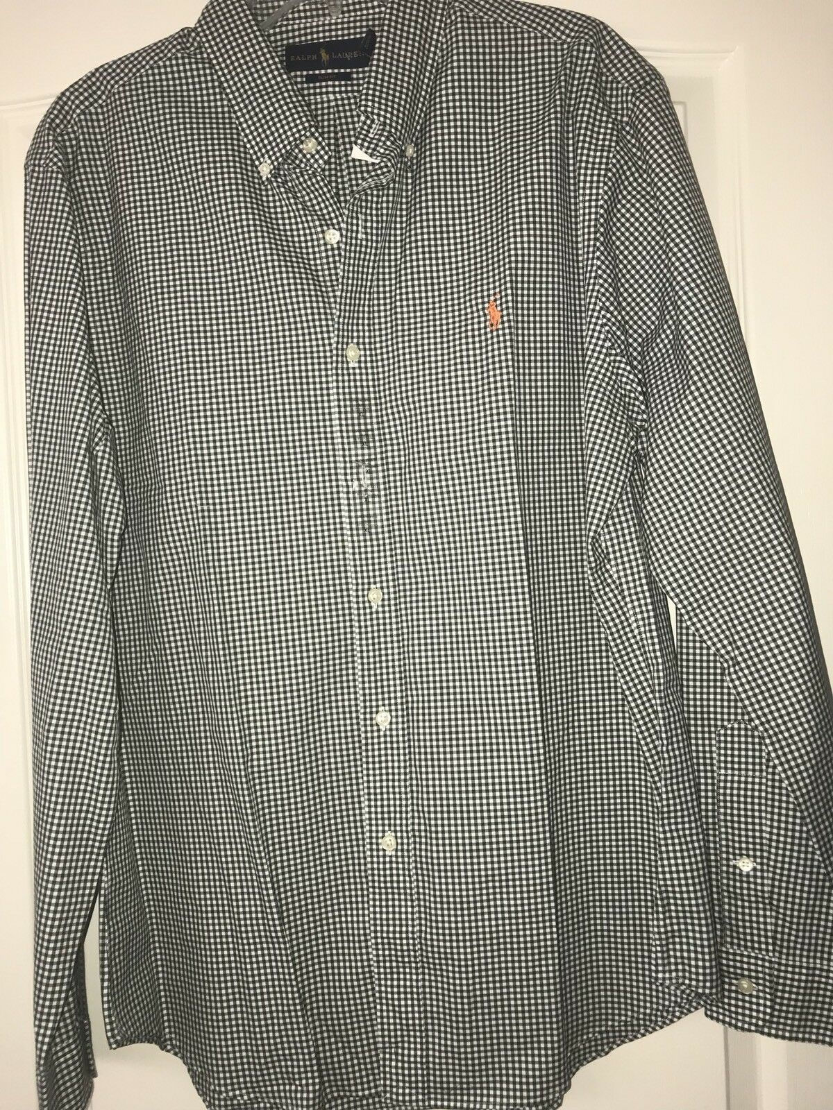 Polo Ralph Lauren Small  Pony  Grün Shirt XLarge XL