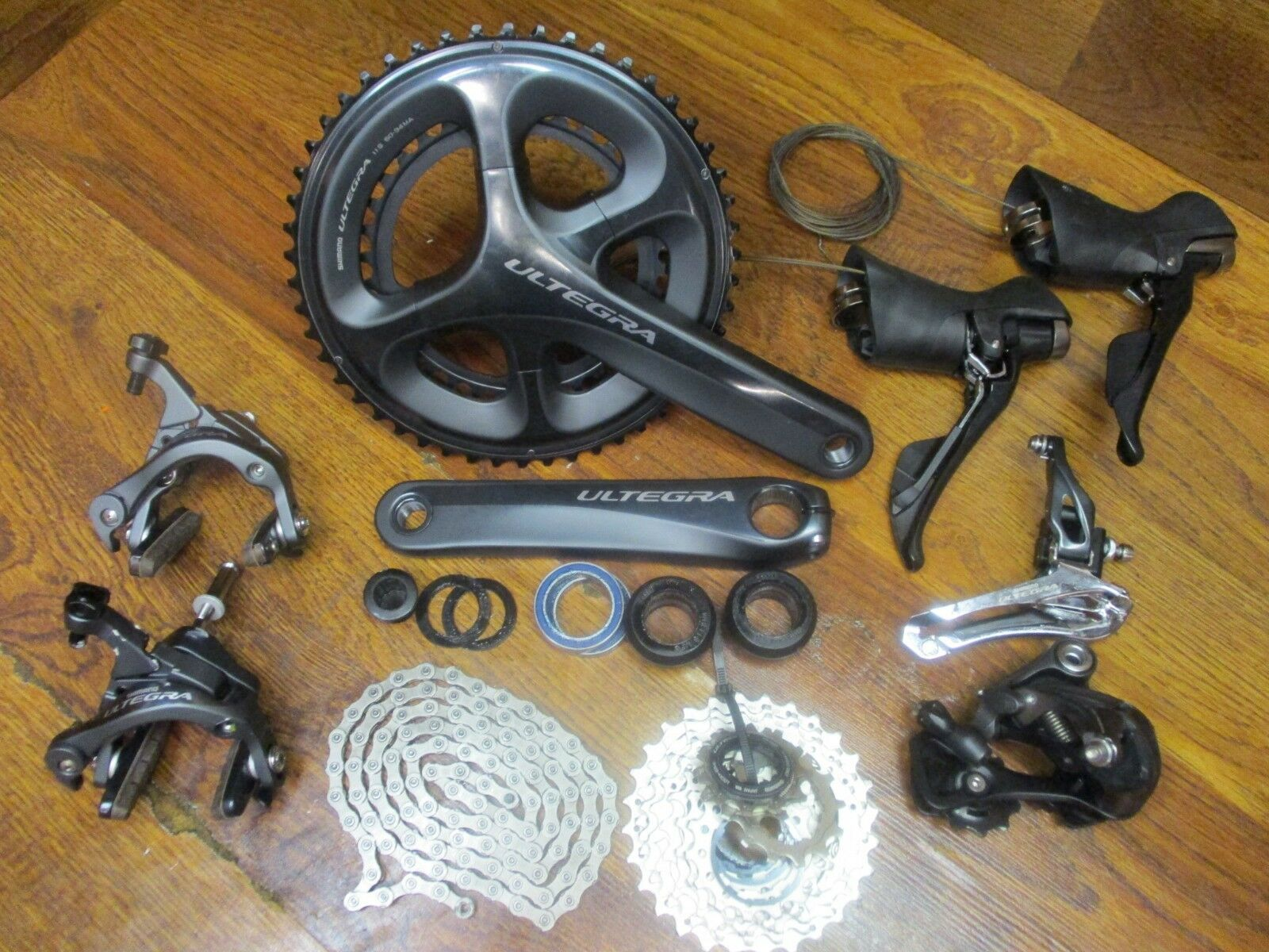 SHIMANO ULTEGRA 6800  172.5L 50 34T 11-28 GROUP GRUPPO BUILD KIT 11 SPEED DOUBLE  good quality