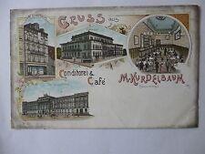 Ansichtskarte Braunschweig Conditorei Cafe Kurdelbaum um 1900