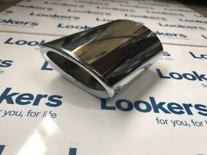 New-Genuine-Vauxhall-Corsa-D-E-Chrome-Exhaust-Tailpipe-Trim-13447810-2006-2019