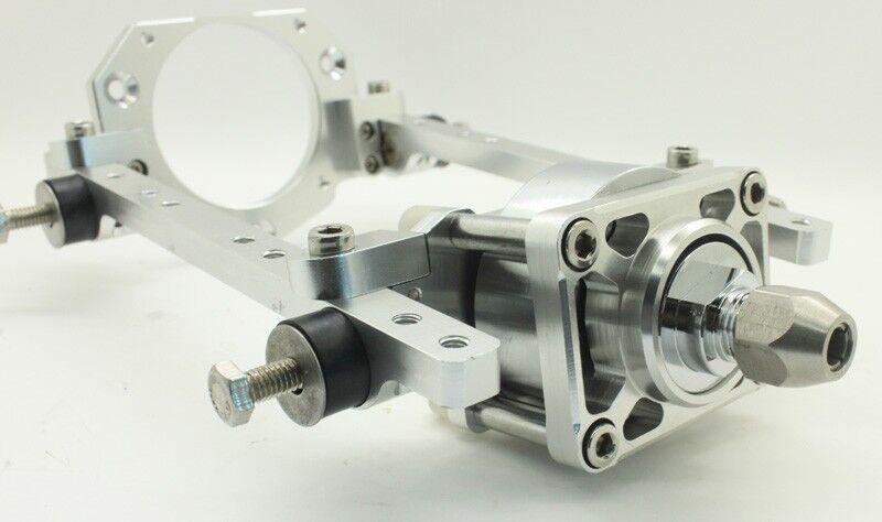 CNC Aluminum Engine Mount w  Clutch for 26  29 30CC RC Marine Engine  presa di marca