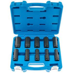 Schlagschrauber-Nuesse-Steckschluessel-Satz-10-tlg-Sechskant-Werkzeug-Set-10-24-mm