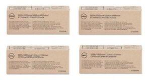 4-x-Original-Toner-Dell-1250c-1350cnw-C1765nf-C1760nw-J95NM-XKP2P-YX24V-MHT79