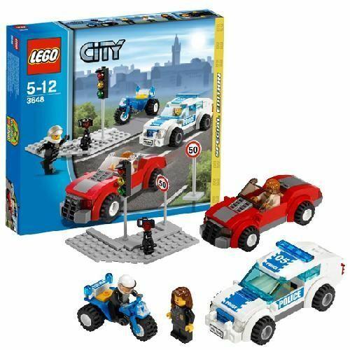 LEGO 3648 - Inseguimento della  Polizia  nuovo stile