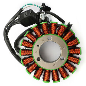 Stator-Lichtmaschine-18-Pole-fuer-Kawasaki-EX300-EX250-Ninja-13-17-ER250-ER300-A3
