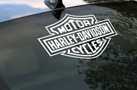 Harley Davidson Logo Rear Window Decal Sticker Car Truck Suv Rv Trailer Decals