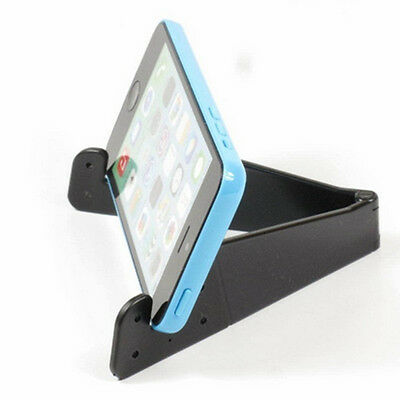 Foldable Mobile Phone Stand Holder Mount for Smartphone & Tablet Universal INS