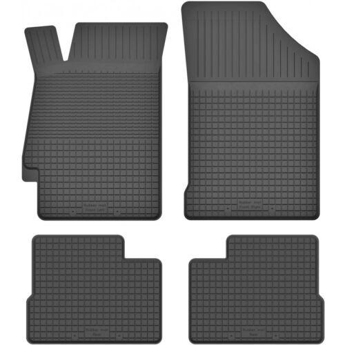 ein Set 2002-2008 4-teile GY Gummimatten Fußmatten 1.5 cm Rand MAZDA 6 I GG