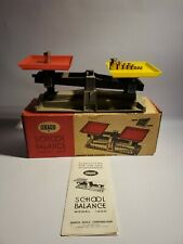 Vintage Ohaus School Balance Model 1200 With Weights