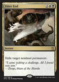 ^MTG KHANS OF TARKIR - UTTER END