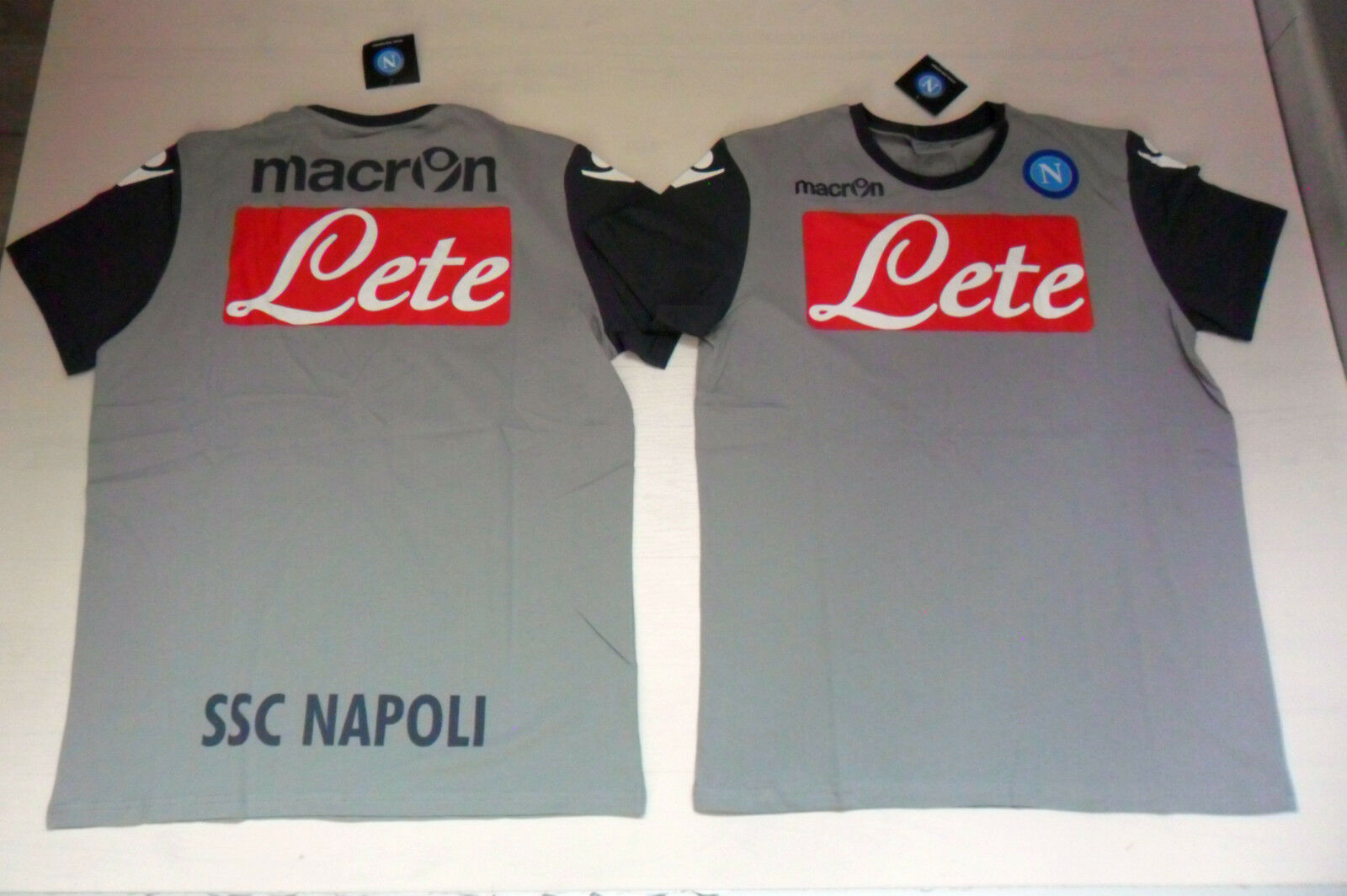 FW14 NAPOLI TG. S TRIKOT SHIRT TRAINING T-SHIRT TRAINING SHIRT TOP- BAUMWOLLE COTTON f1602d