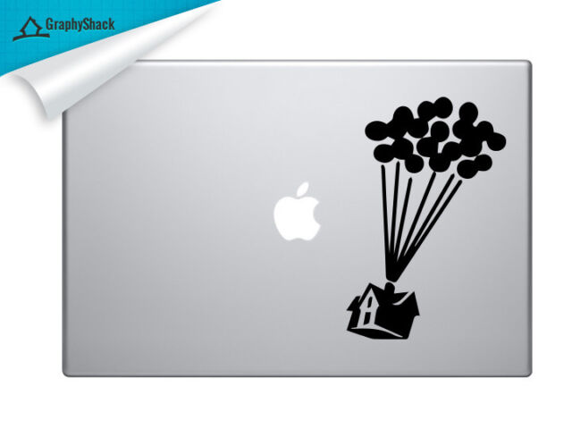 UP House Movie Mac Decal Laptop Sticker Mac Decals for 13 15 17 inch Macbook