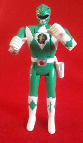 Bandai MIGHTY MORPHIN POWER RANGERS FLIP HEAD ACTION FIGURES 1993 GREEN RANGER