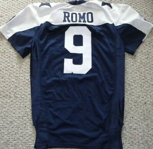 DALLAS-COWBOYS-GAME-JERSEY-AUTHENTIC-TONY-ROMO-THROWBACK-JERSEY-SIZE-52-L-B