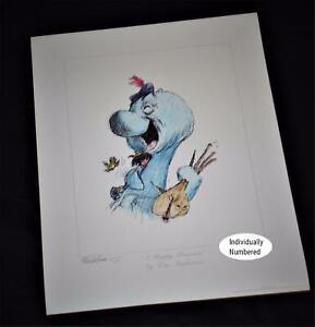 Ken-Anderson-SIGNED-Walt-Disney-Legend-Disneyland-Artist-Ltd-Edtn-312-Litho-1992