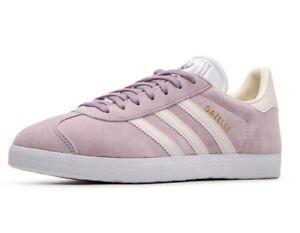 Details about ADIDAS Originals Gazelle W womens shoes trainers CG6066 suede purple soft vision