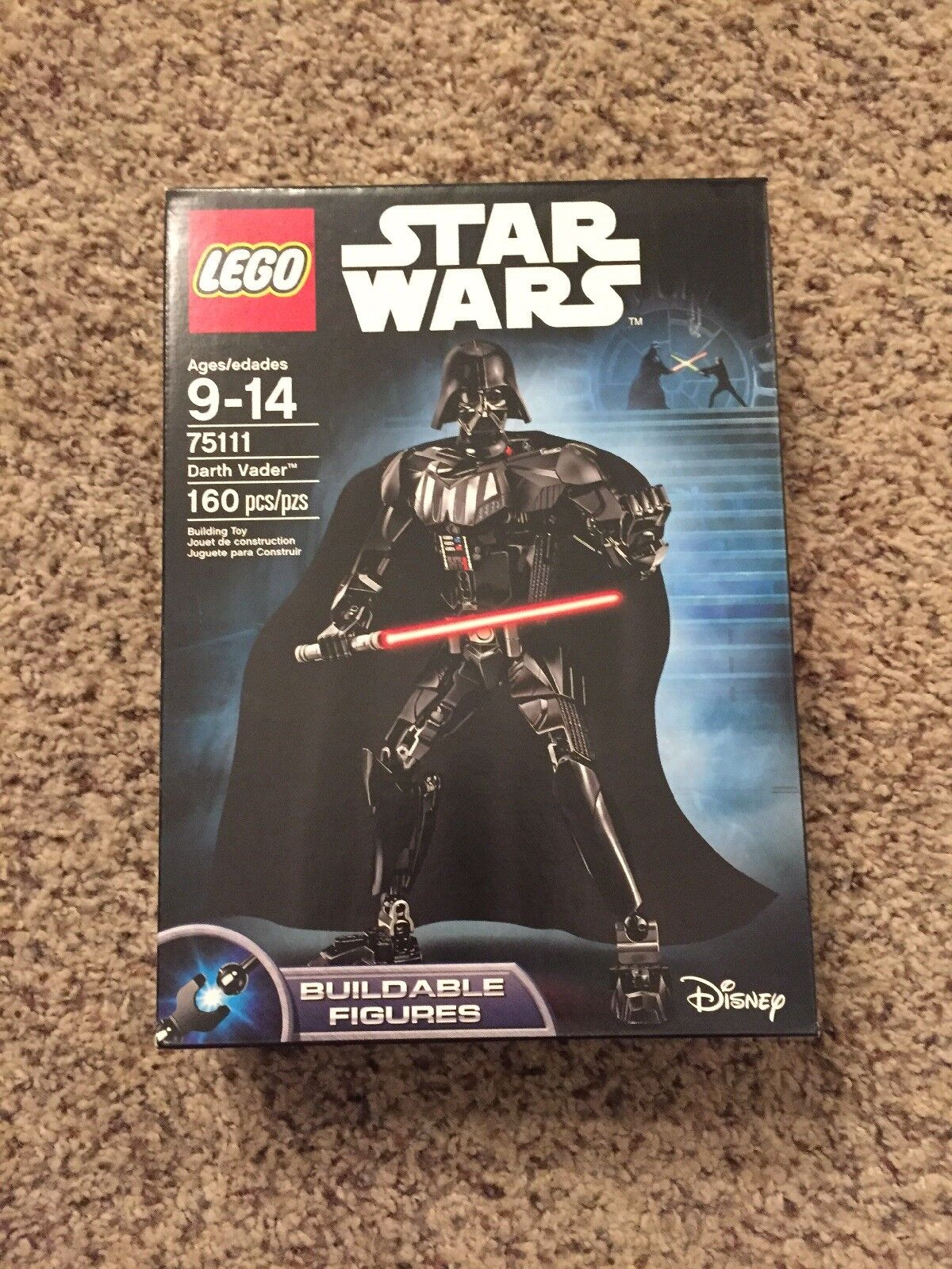 Lego Star Wars Darth Vader 75111 - Nuovo in Unopened Box