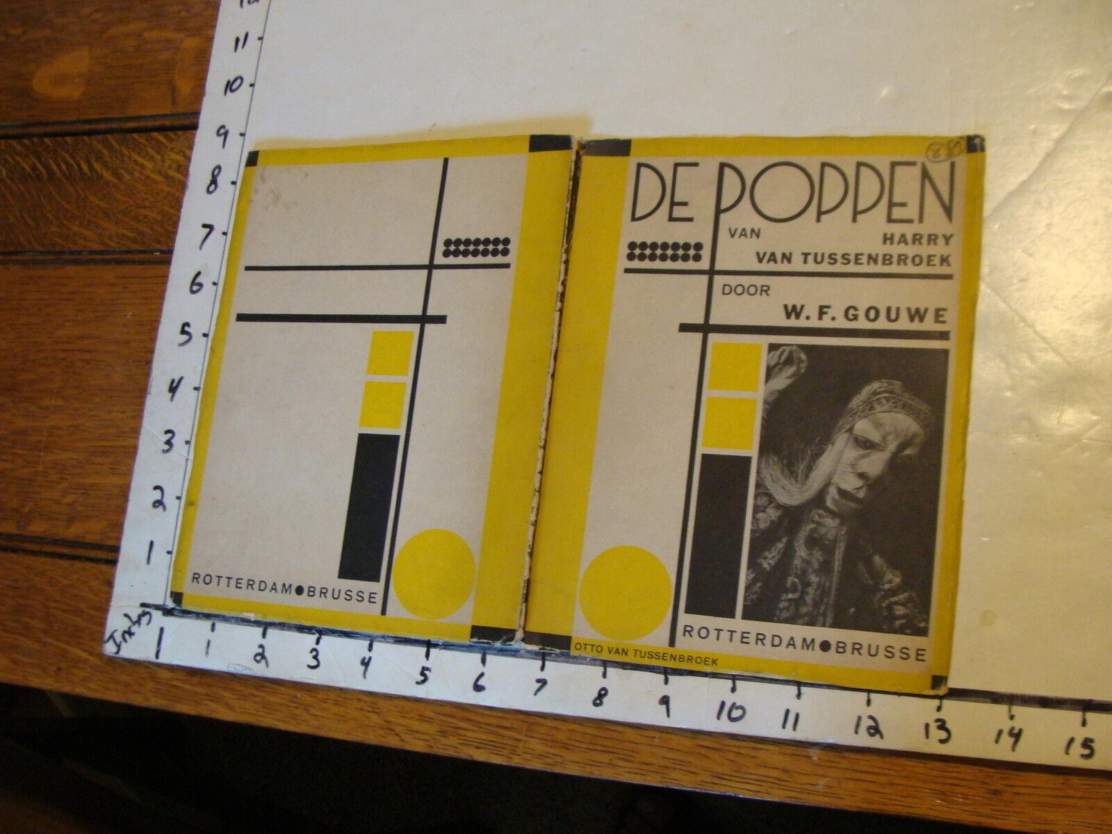 Vintage MARIONETTE Play   rare DE POPPEN VAN HARRY VAN TUSSENBROEK  garanzia di qualità
