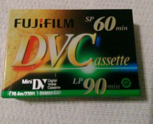 Fujifilm mini DV cassette sp 60//lp90 min