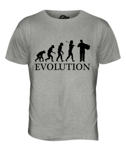 ACCORDIAN PLAYER EVOLUTION OF MAN MENS T-SHIRT TEE TOP GIFT MUSICIAN